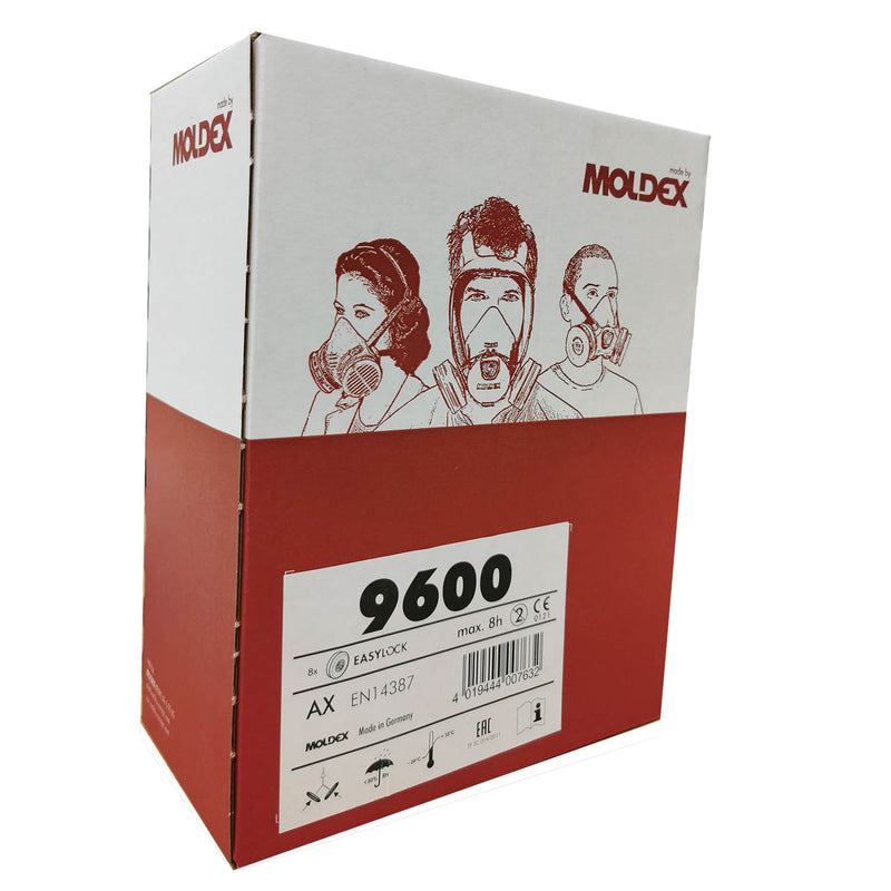 Moldex 9600 AX Gas filter box