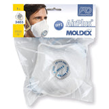 Moldex 3405 FFP3 Air Plus R D Dust Masks Single Pack 1