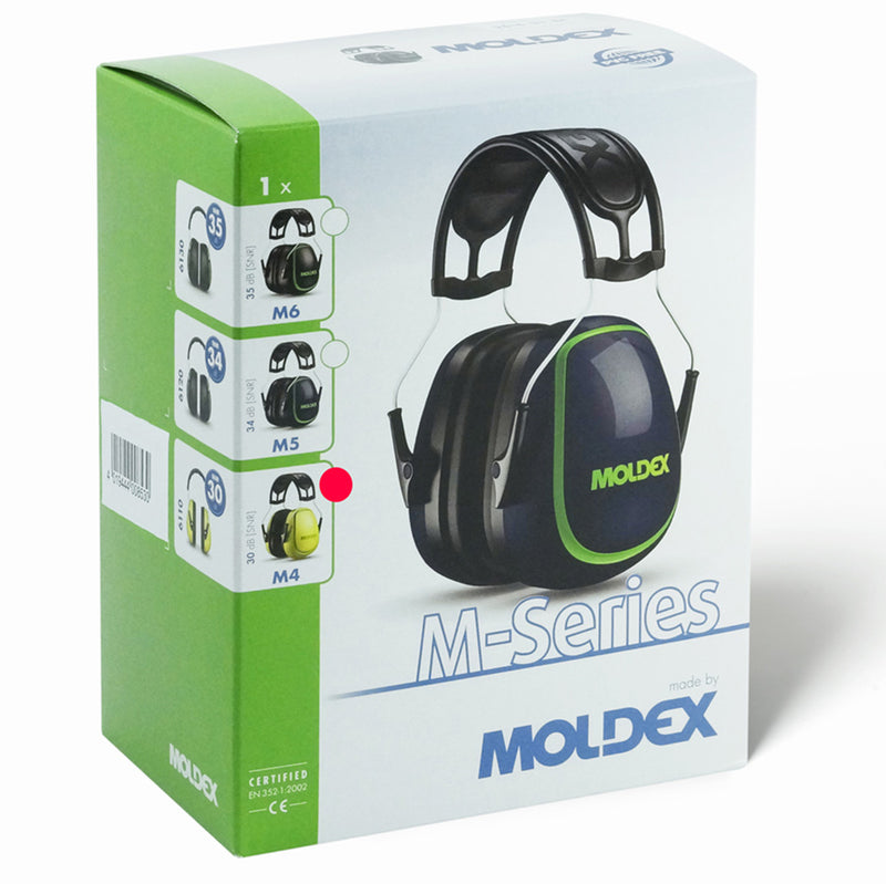 MOLDEX 6110 M4 Earmuffs with box