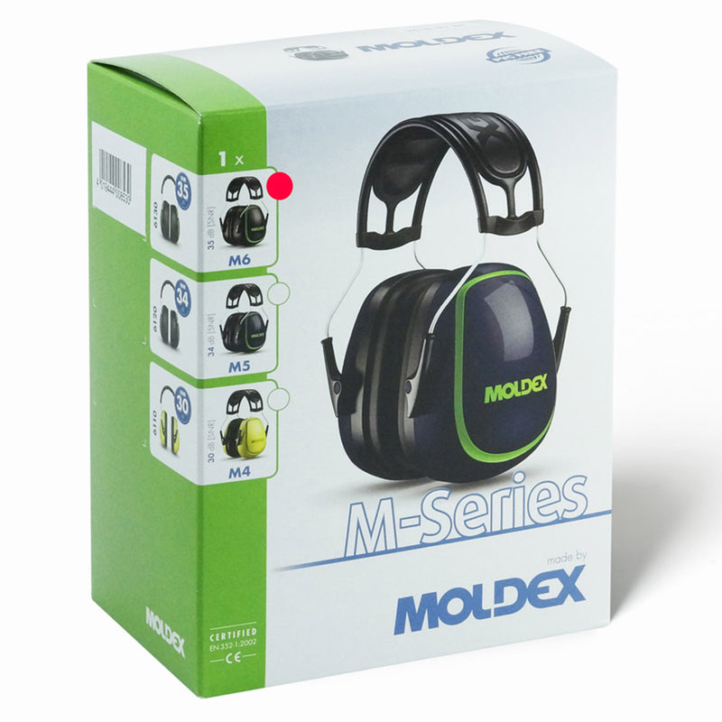 Moldex 6130 M6 with the package