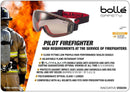 Safety Goggles Bolle Pilot Firefighter PILOFCSP