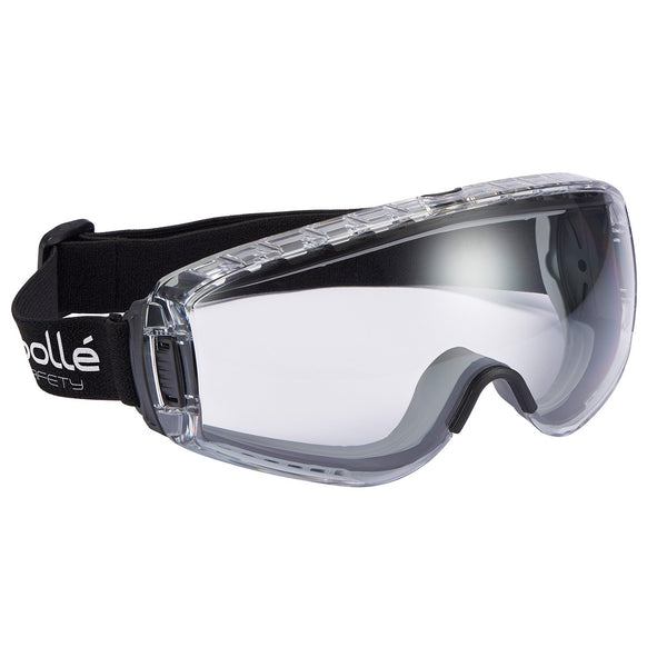 Bolle Pilot PILOPSI Clear Safety Goggles