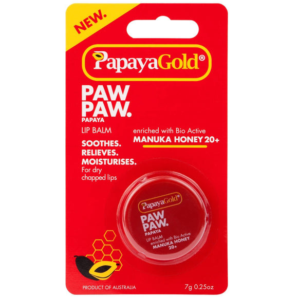 Papaya Gold PAWPAW Lip Balm 7g