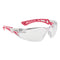 Bolle RUSH+ SMALL RUSHPSPSIP Safety Glasses Clear Lens