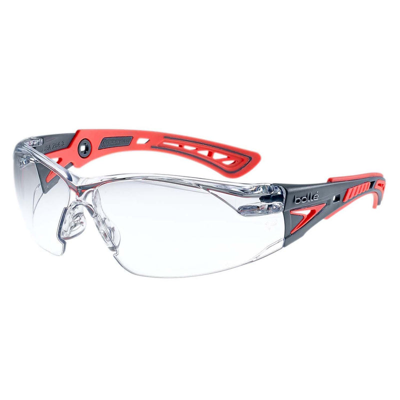Bolle RUSH+ Small RUSHPSPSIS Safety Glasses Grey
