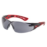 Bolle RUSH+ RUSHPPSF Safety Glasses Smoke Lens