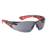 Safety Glasses Bolle RUSH+ RUSHPPSF Smoke Lens
