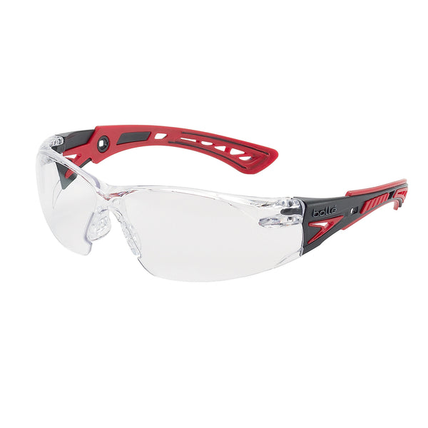 Bolle RUSH+ RUSHPPSI Safety Glasses Clear Lens