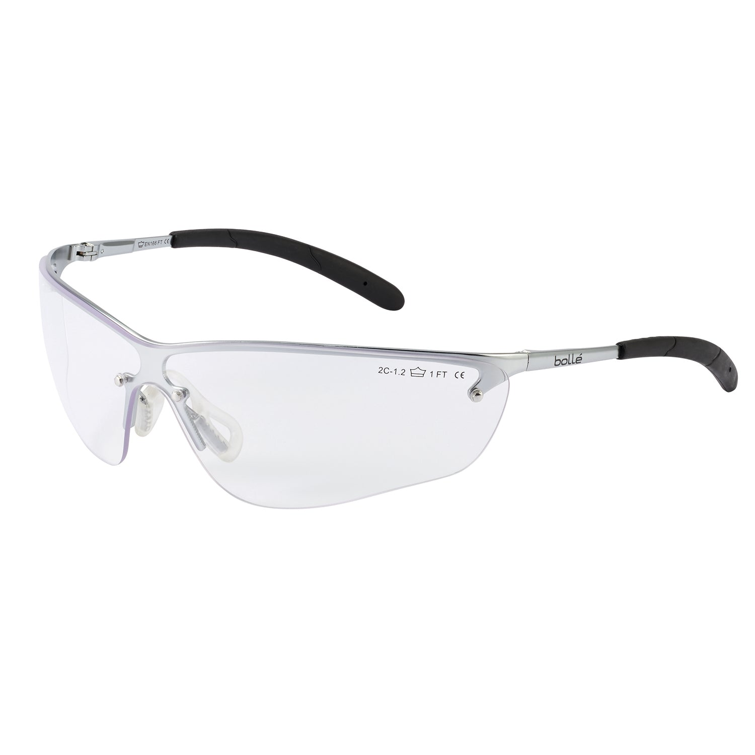eab58eb9162d Bolle SILIUM SILPSI Safety Glasses Clear Lens – Alive Safety and ...