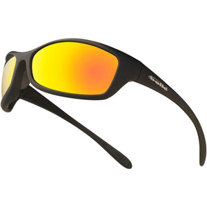 Bolle safety glasses bolle spider red flash lens