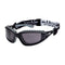 Bolle Safety Glasses Bolle TRACKER TRACPSF Smoke Lens