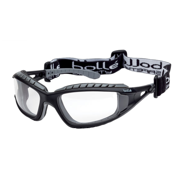 Bolle Safety Glasses Bolle TRACKER TRACPSI Clear Lens