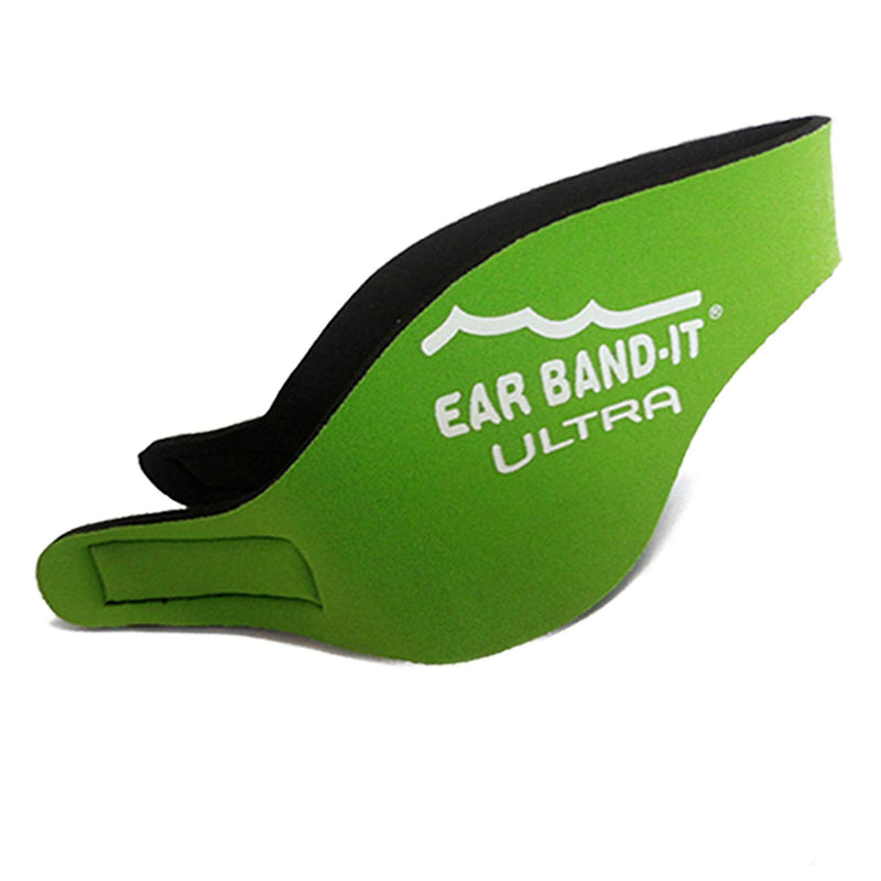 Ear Band-It Ultra Swimmer's Headband - Neon Green