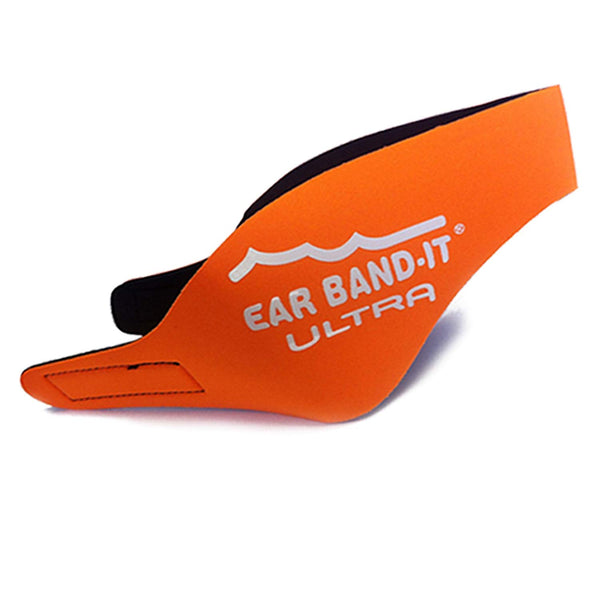 Ear Band-It Ultra Swimmer's Headband - Neon Orange