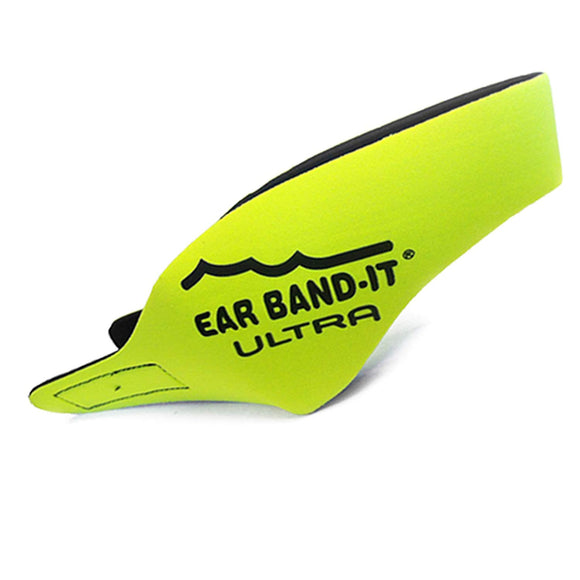 Ear Band-It Ultra Swimmer's Headband - Neon Yellow