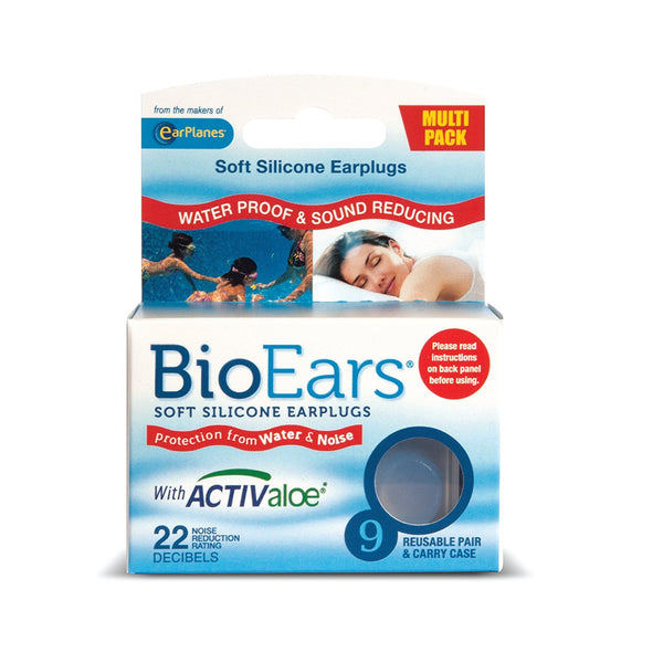 BioEars Soft Silicone Earplugs Multipack 1