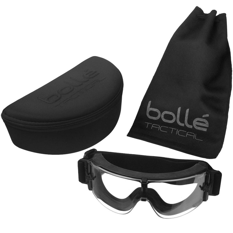 Bolle Tactical X800 Ballistic Goggles full pack