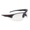 Honeywell GUNMETAL Safety Glasses - Gray & Black Frame, I/O Silver HC Lens