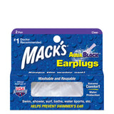 Mack's Aqua Block® Clear Ear Plugs 2 Pairs