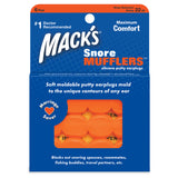 Mack's Snore Mufflers Silicone Putty Ear Plugs 6 Pairs