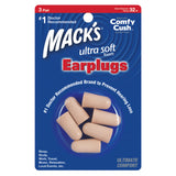 Mack's Ultra Soft Foam Ear Plugs 3 Pairs