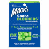 Mack's Snore Blockers® Soft Foam Ear Plugs 12 Pairs