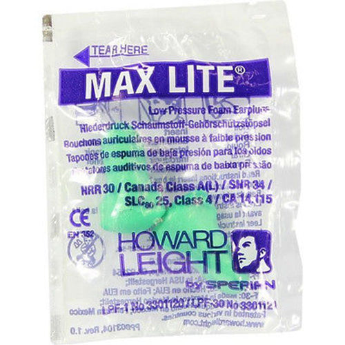 Honeywell Howard Leight Max Lite Earplugs Detail 1