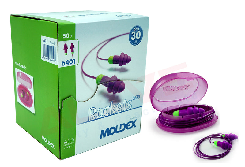 MOLDEX 6401 - Rockets Cord ear plugs box