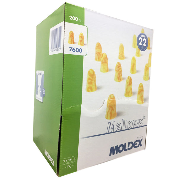 MOLDEX 7600 Mellows ear plugs box