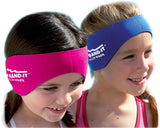 Ear Band-It Ultra Swimmer's Headband - True Blue