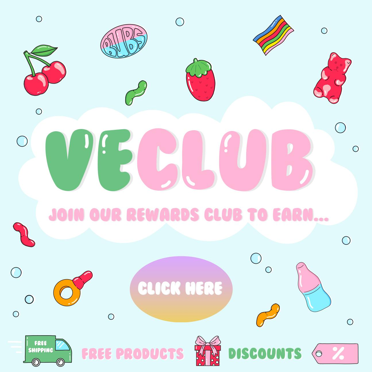 vegan sweets reward club
