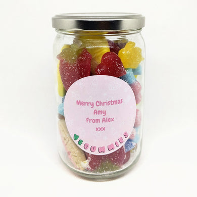 vegan sweet gift jar