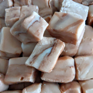 vegan fudge salted caramel