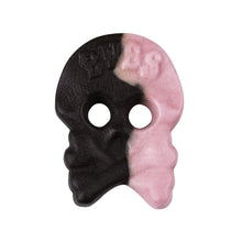 Load image into Gallery viewer, vegan bubs sweets liquorice raspberry skull