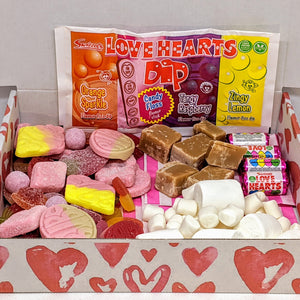 vegan sweets valentine's gift box