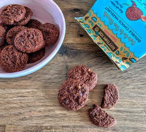 Rhythm chocolate vegan cookies