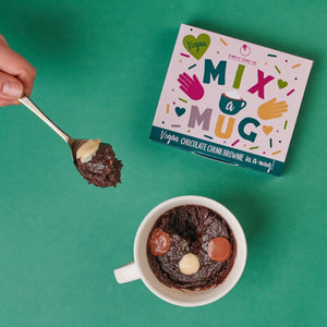 Vegan mix a mug cake