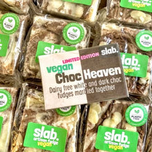 Load image into Gallery viewer, Slab vegan choc heaven fudge
