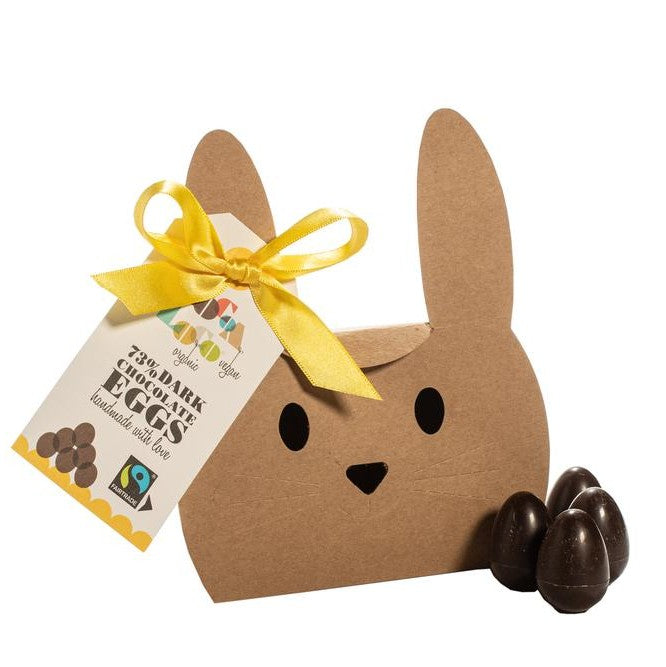 Coco loco vegan dark choc mini egg gift box