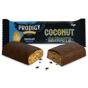 Prodigy vegan chocolate coconut cahoots
