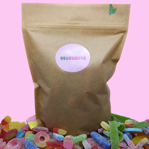 Vegan pick & mix sweet pouch