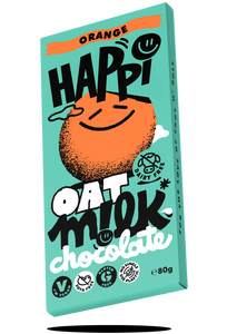 Happi oat milk vegan chocolate orange