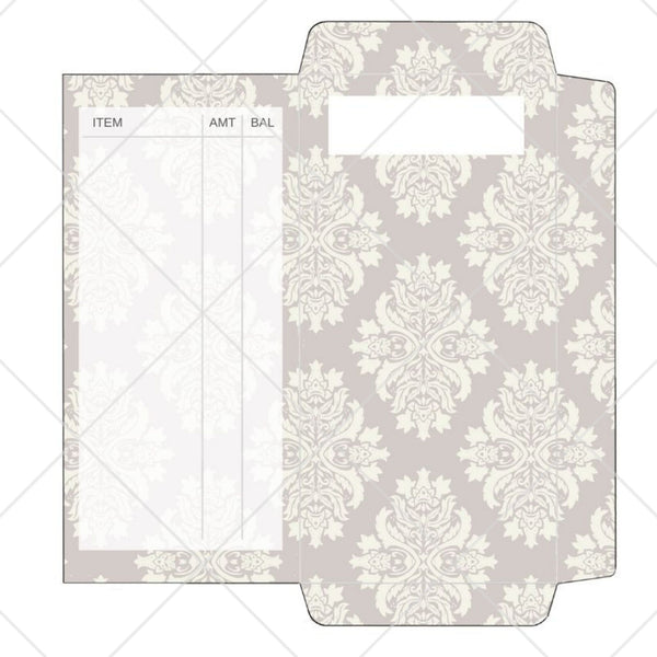 Cash Envelope - Elegant Grey