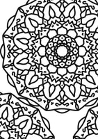 Mandala Coloring Pages | Set of 3
