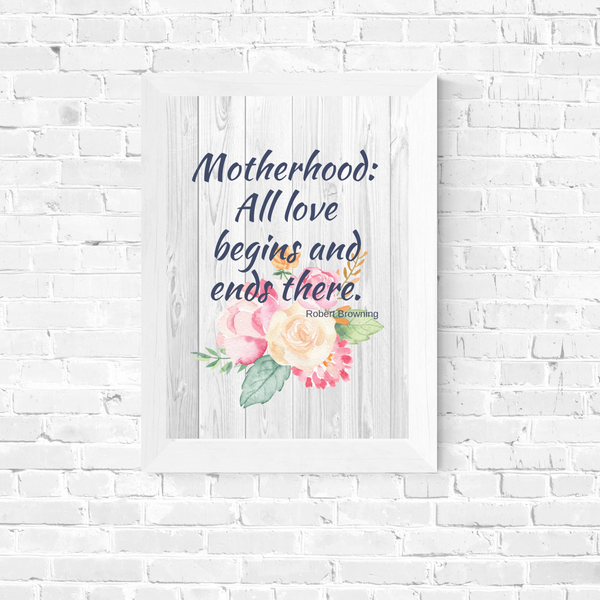 Mother's Day Art - Motherhood