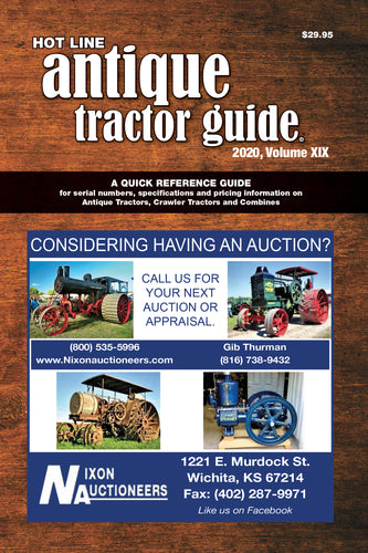 2020 Hot Line Antique Tractor Guide (Previous Edition)