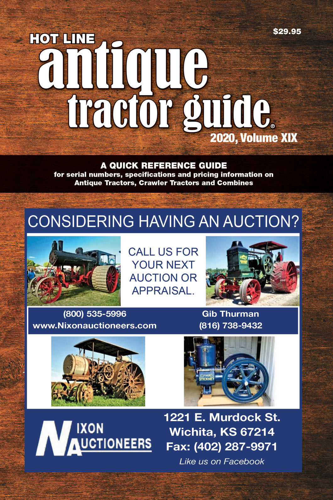 2020 Hot Line Antique Tractor Guide