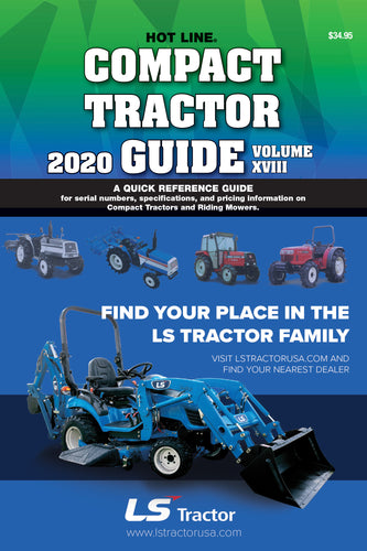 2020 Hot Line Compact Tractor Guide (Previous Edition)