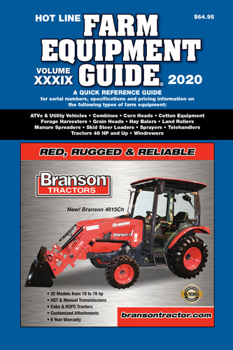 2020 Hot Line  Farm Equipment Guide (Previous Edition)