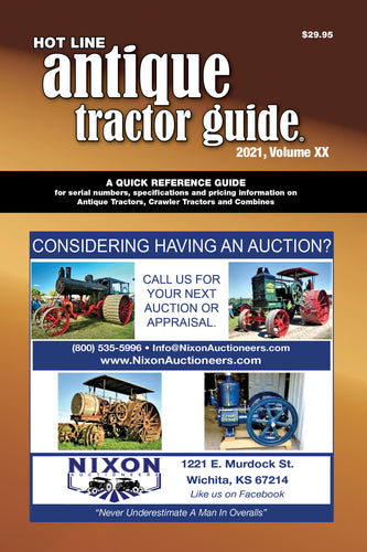 2021 Hot Line Antique Tractor Guide